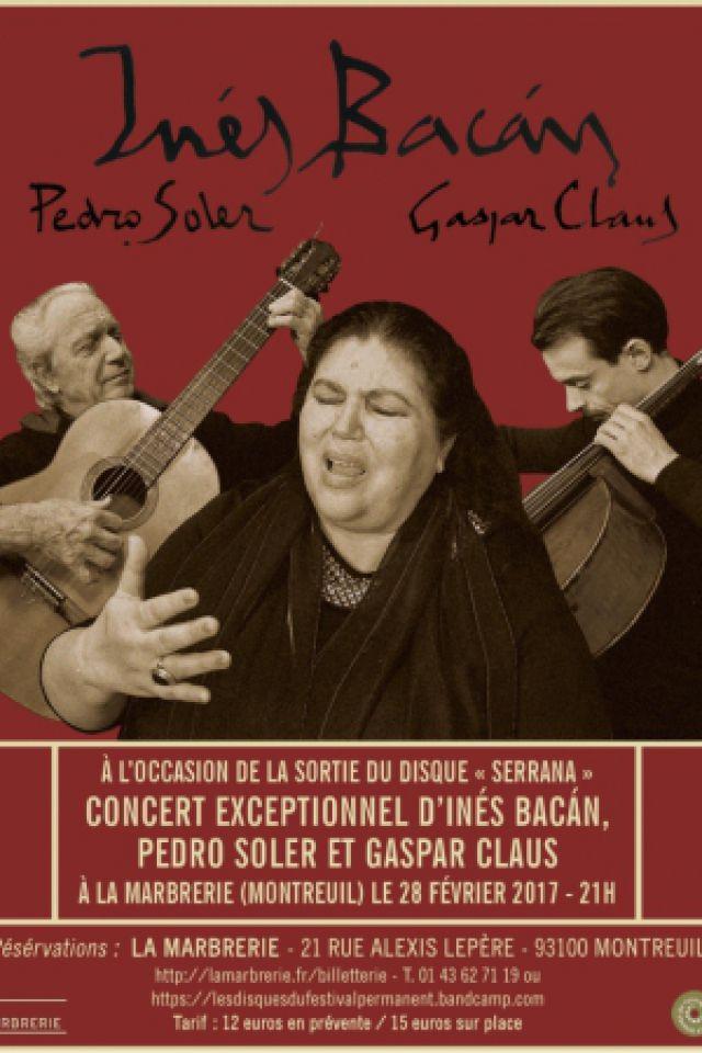 Billets Pedro Soler, Gaspar Claus & Ines Bacan - La Marbrerie