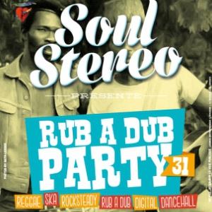 Soirée RUB A DUB PARTY #31