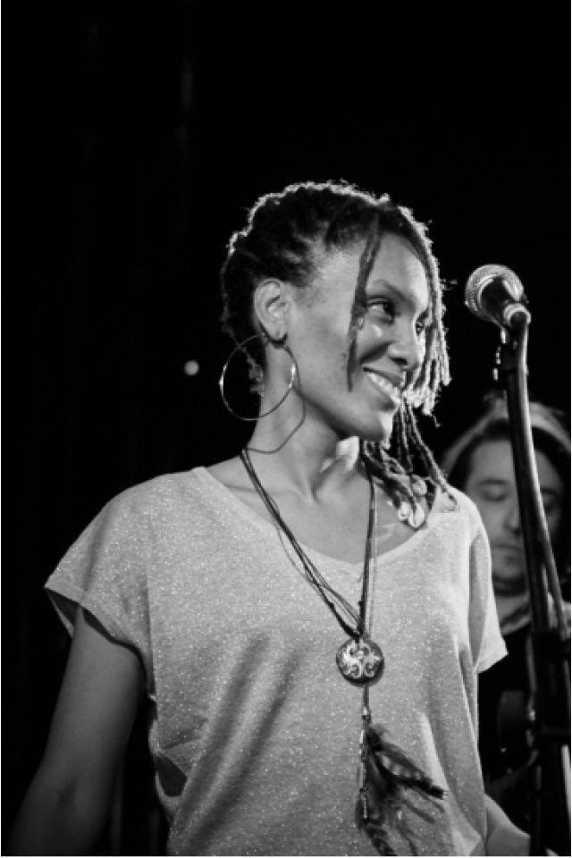 Corinne PIERRE-FANFAN  «Traversée» @ Le Baiser Salé - PARIS