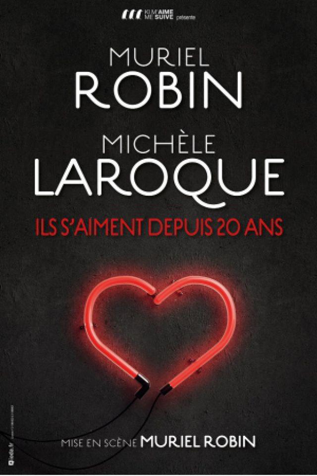 MURIEL ROBIN - MICHEL LAROQUE  @ Zénith Arena  - LILLE