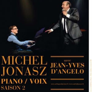 MICHEL JONASZ - PIANO VOIX AVEC JEAN-YVES D'ANGELO @ Espace Avel vor  - Plougastel Daoulas