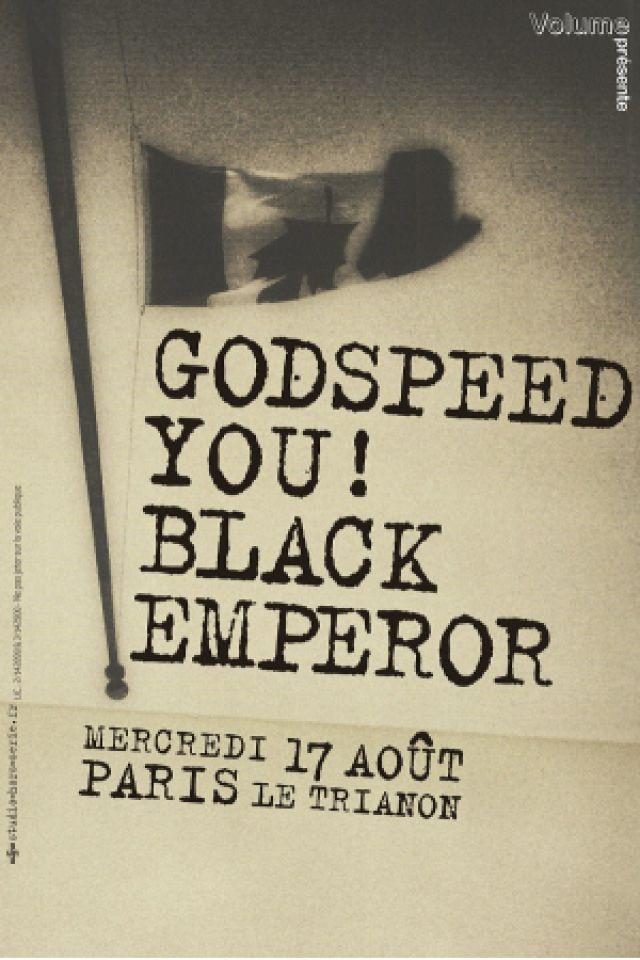 GODSPEED YOU ! BLACK EMPEROR @ Le Trianon - Paris