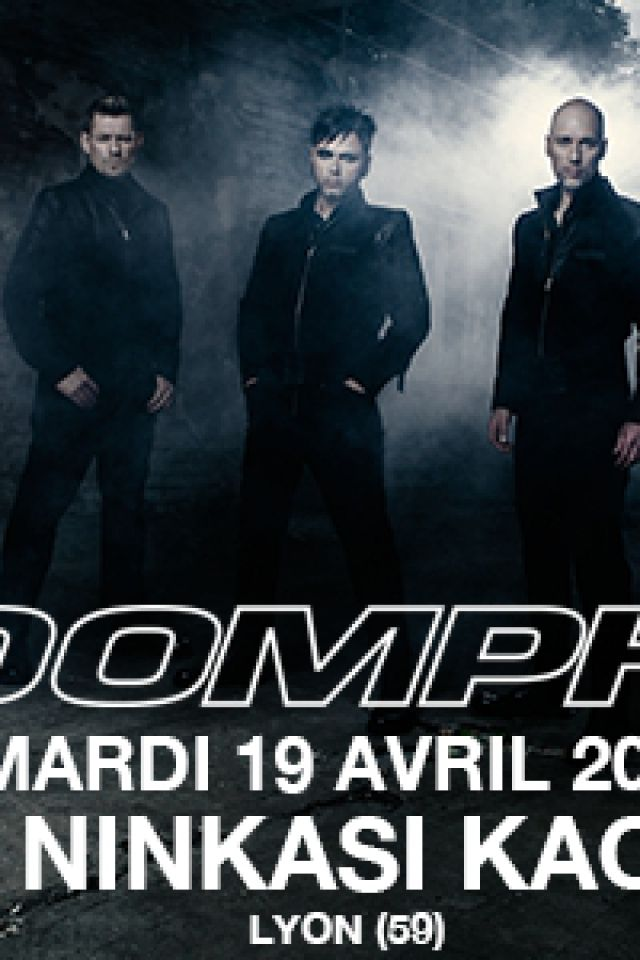 "Concert OOMPH! ""XXV"" EUROPEAN TOUR 2016 + guest à LYON @ Ninkasi kao - Billets & Places"