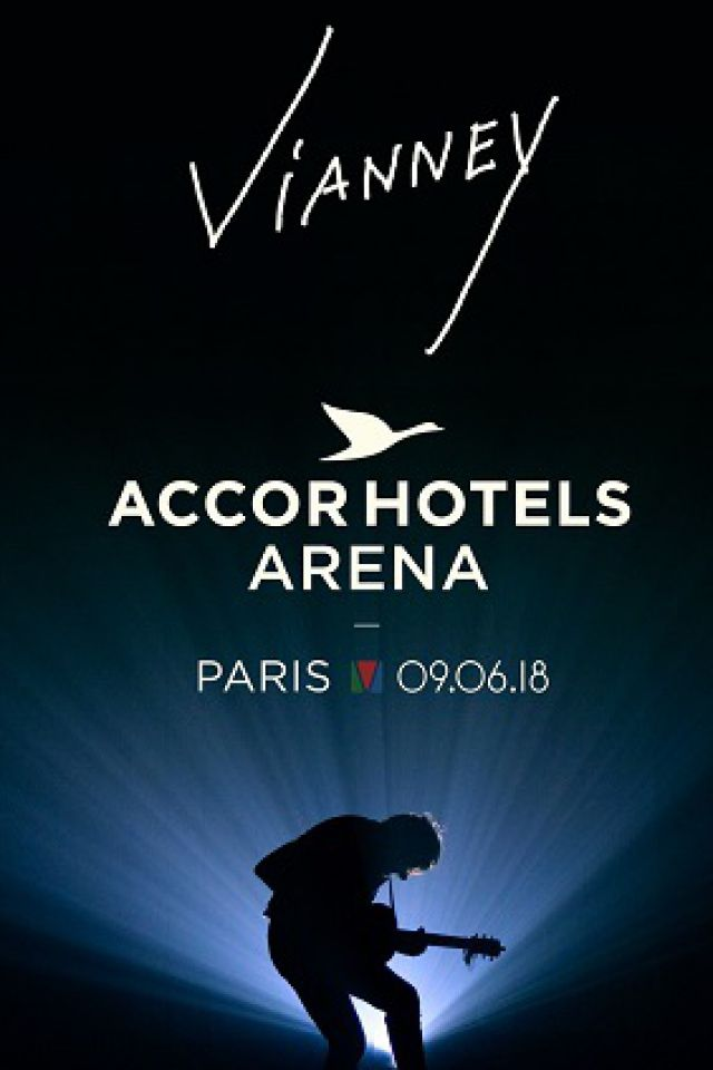 Concert VIANNEY à PARIS 12 @ ACCORHOTELS ARENA - Billets & Places