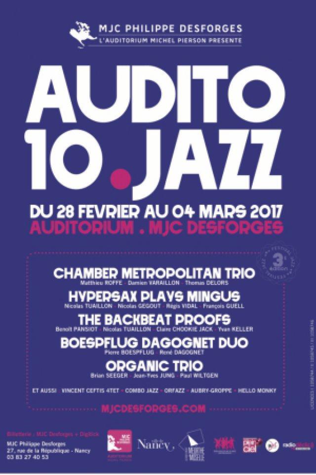 The Backbeat Proofs @ Auditorium Michel Pierson - MJC Desforges - NANCY