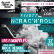 NERAC'N'ROLL avec NO MONEY KIDS, ROCK RESCUE et ROCKFELES
