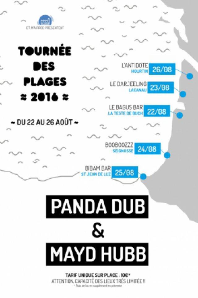 Concert Panda Dub + Mayd Hubb