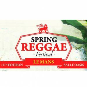 Spring Reggae Fest 11ème édition @ L'OASIS - Le Mans