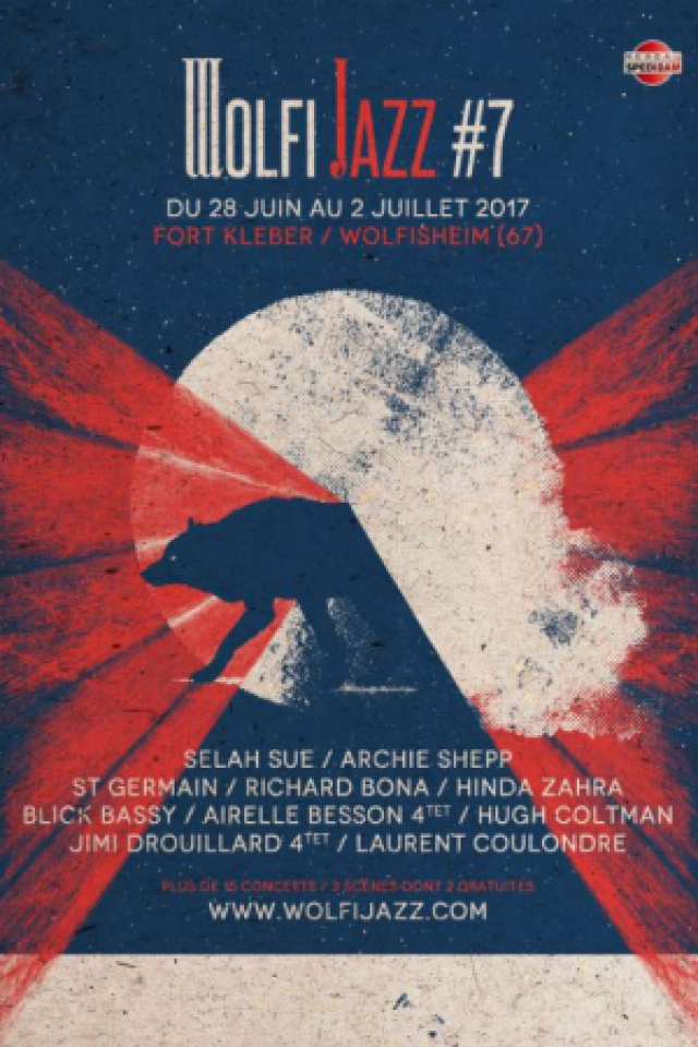 """Festival Wolfi Jazz - PASS 5 JOURS """"Le Grand méchant Pass"""" @ Fort Kléber - WOLFISHEIM"""
