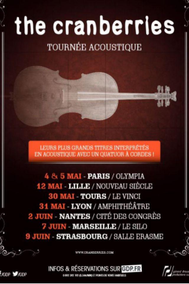 THE CRANBERRIES @ Le Vinci - Auditorium François 1er - Tours