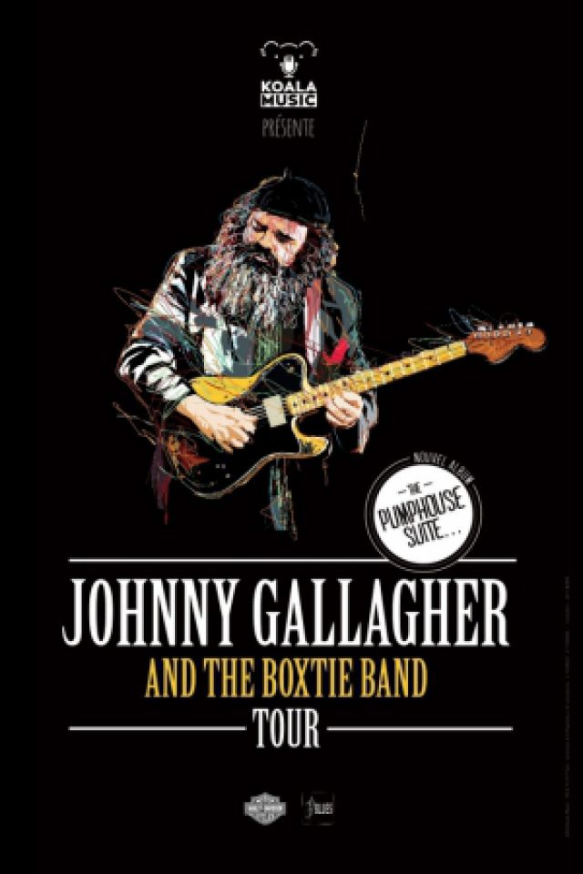 Billets JOHNNY GALLAGHER & THE BOXTIE BAND - New Morning
