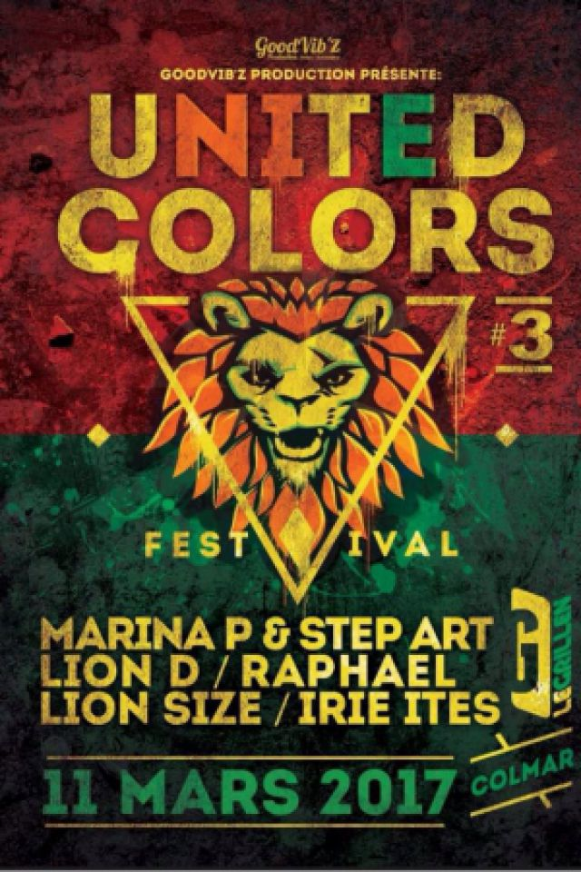 UNITED COLORS 3 Festival @ Le GRILLEN - COLMAR
