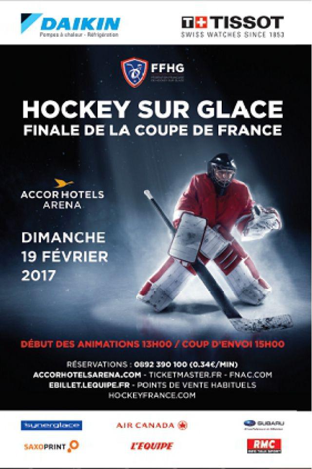 FINALE COUPE DE FRANCE DE HOCKEY 2017 @ ACCORHOTELS ARENA - PARIS 12
