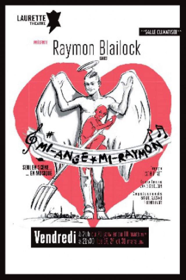 Mi-Ange Mi-Raymon  @ LAURETTE THEATRE - PARIS