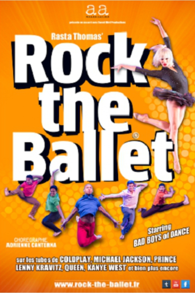 ROCK THE BALLET @ Casino de Paris - Paris