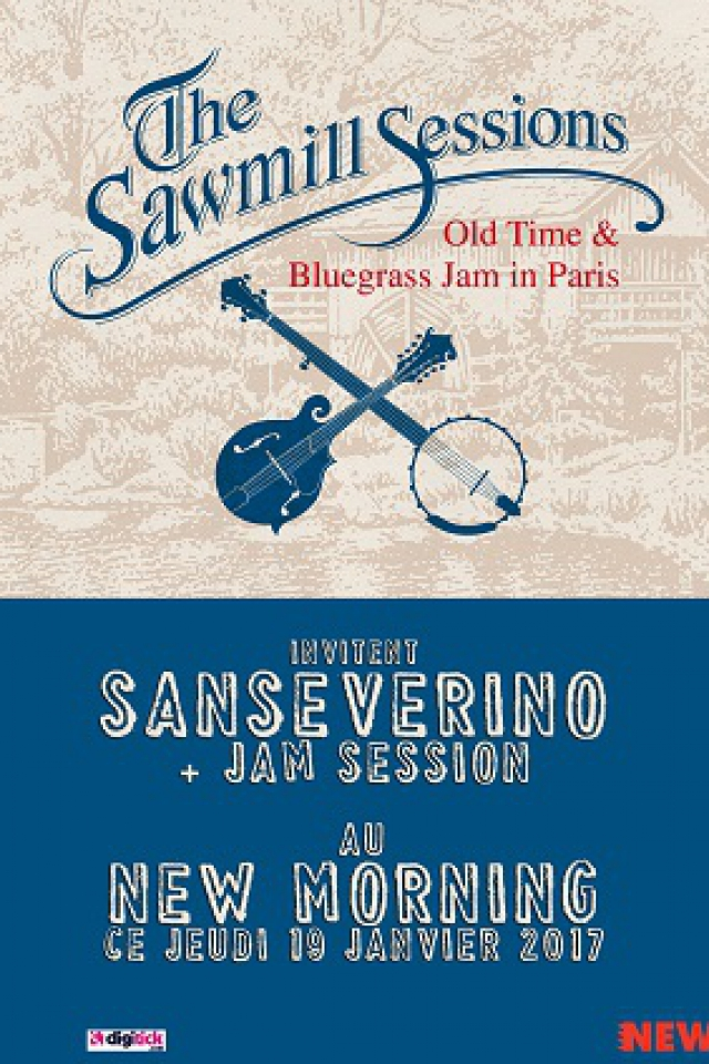 Concert The Sawmill Sessions invitent  SANSEVERINO