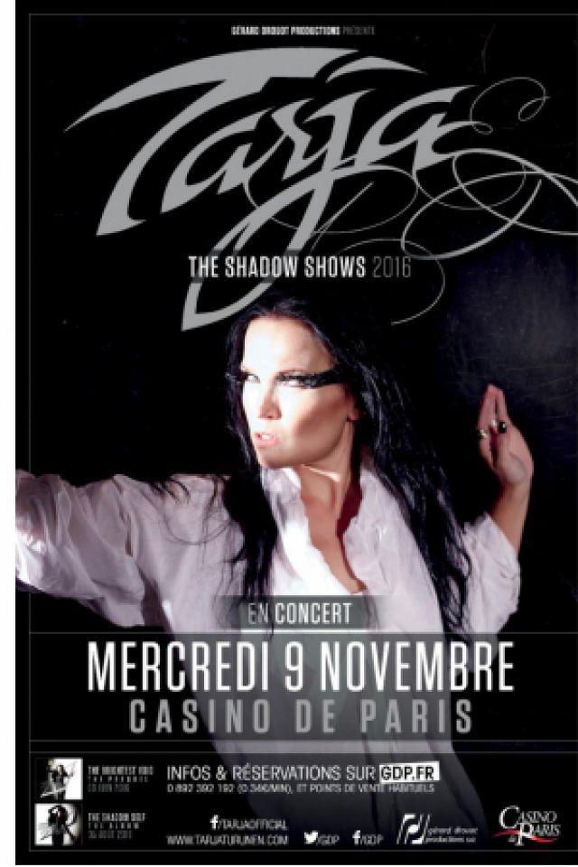 TARJA TURUNEN @ Casino de Paris - Paris