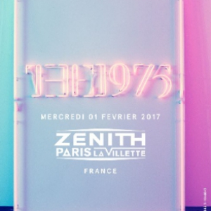 Concert THE 1975 - LE ZENITH