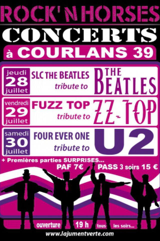 FESTIVAL ROCK'N HORSES - FOUR EVER ONE TRIBUTE TO U2 @ La Jument Verte - COURLANS