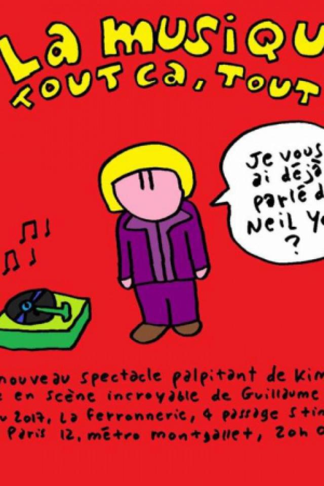 La musique, tout ça, tout ça... de Kim Giani @ La Ferronnerie-Centre d'animation Montgallet - PARIS