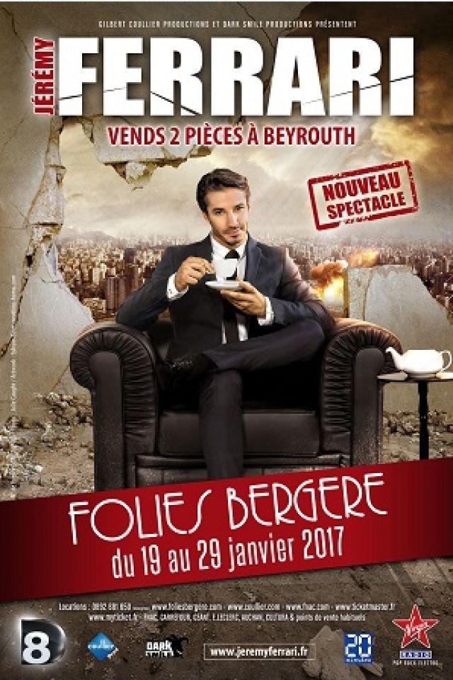 JEREMY FERRARI @ Théâtre des Folies Bergère - Paris