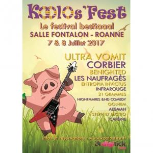 Koolos'Fest - FESTIVAL @ SALLE FONTALON - ROANNE