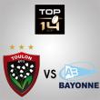 Match RC TOULON - BAYONNE