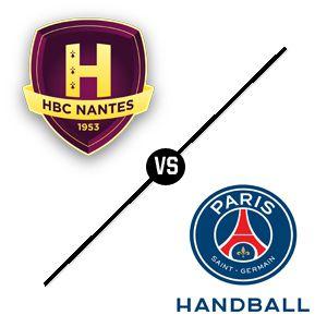 Carte HBC Nantes - PSG Handball