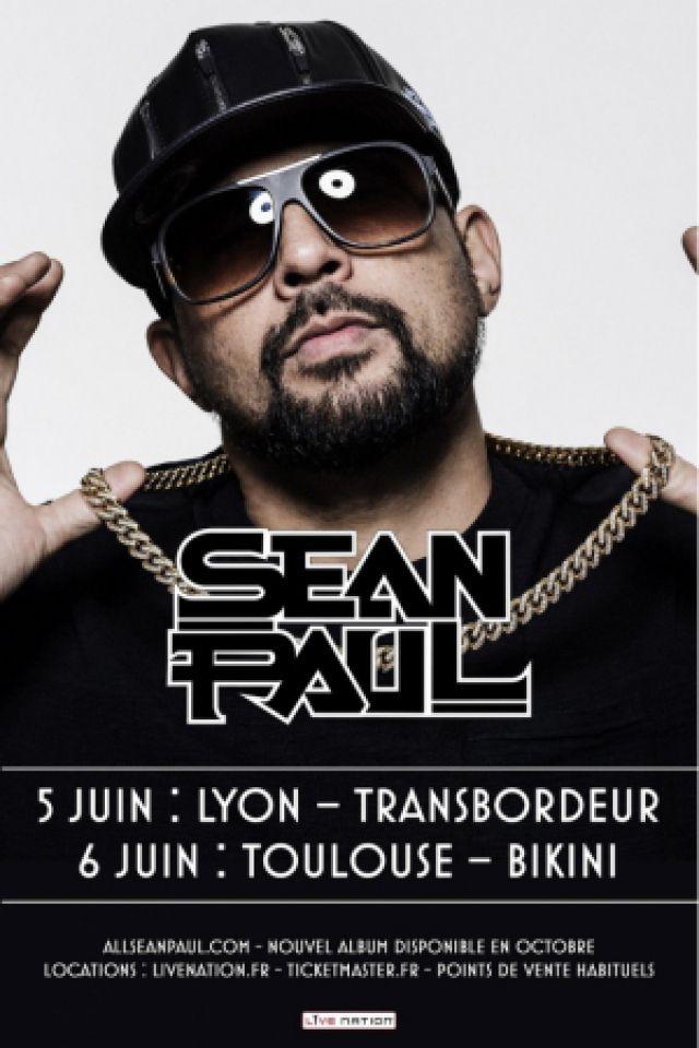 SEAN PAUL @ TRANSBORDEUR - Villeurbanne