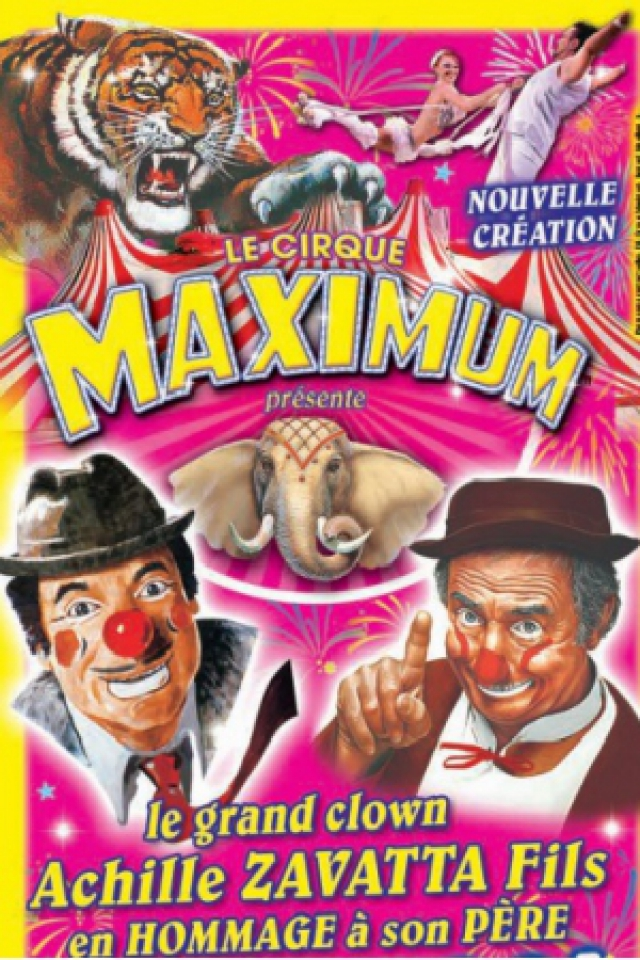 LE CIRQUE MAXIMUM A ST CHELY APCHER @ CHAPITEAU MAXIMUM - SAINT CHÉLY D'APCHER