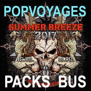 SUMMER BREEZE 2017 DEPART STRASBOURG @ BUS POPVOYAGES DEPART BÂLE - BÂLE