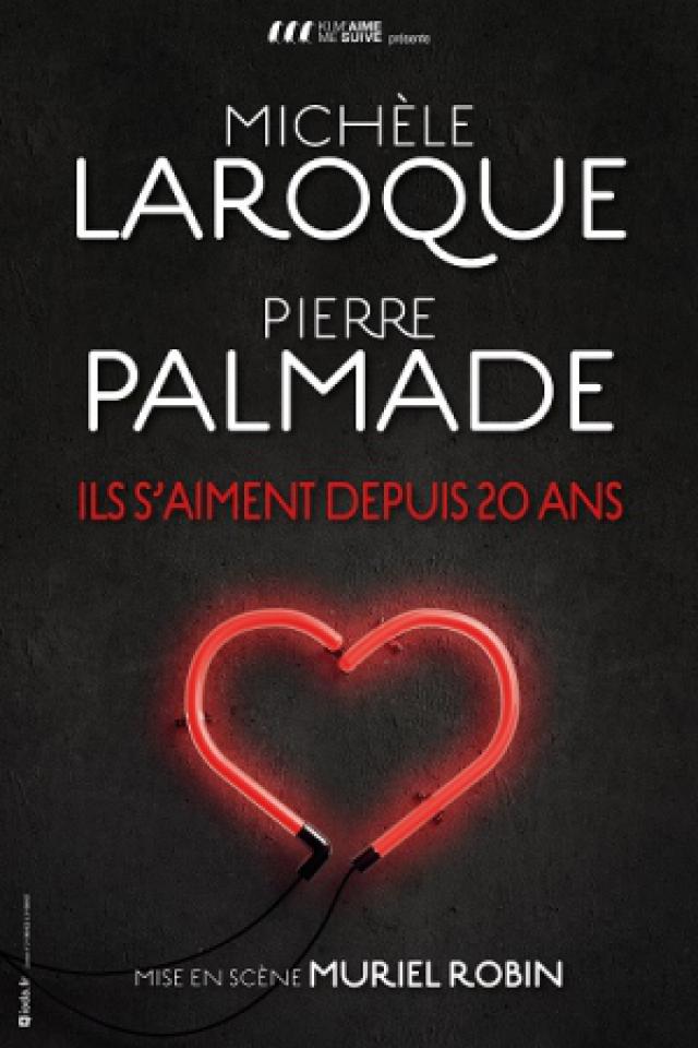 PIERRE PALMADE - MURIEL ROBIN @ Zénith d'Auvergne -  Cournon