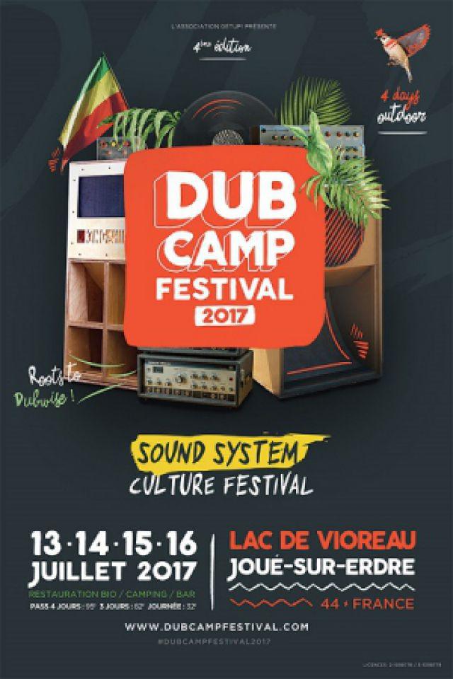 DUB CAMP FESTIVAL 2017 - PASS 3 JOURS @ Lac de Vioreau - JOUÉ SUR ERDRE