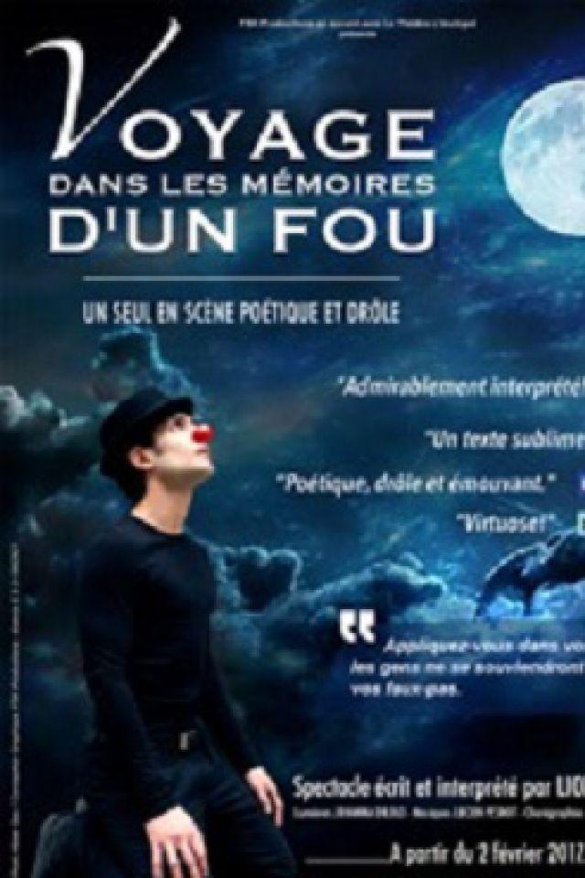 Voyage dans les mémoires d'un fou @ Théâtre L'Archipel - Salle Bleue / 1 - PARIS
