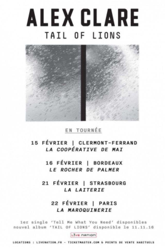 Billets ALEX CLARE - La Maroquinerie