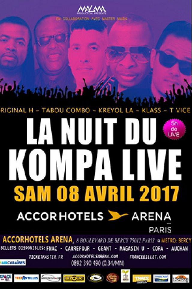 LA NUIT DU KOMPA LIVE @ ACCORHOTELS ARENA - PARIS 12