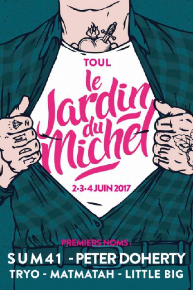 JARDIN DU MICHEL 2017 - PASS 3 JOURS PROMO @ SITE PLEIN AIR - TOUL