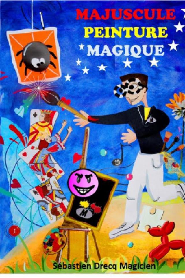 Majuscule Peinture Magique  @ Acte 2 Théâtre - LYON