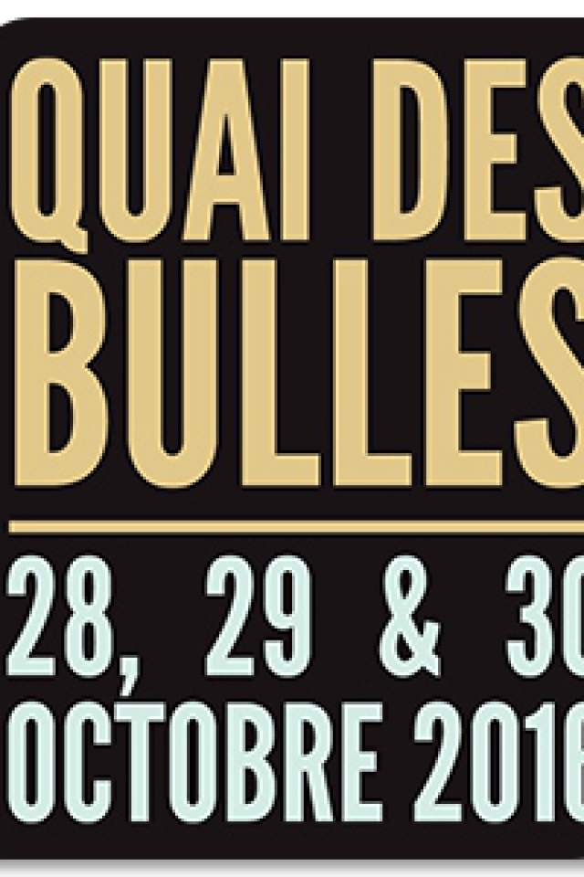 QUAI DES BULLES 2016 - DIMANCHE 30 OCTOBRE 2016 @ Esplanade Duguay Trouin - SAINT MALO