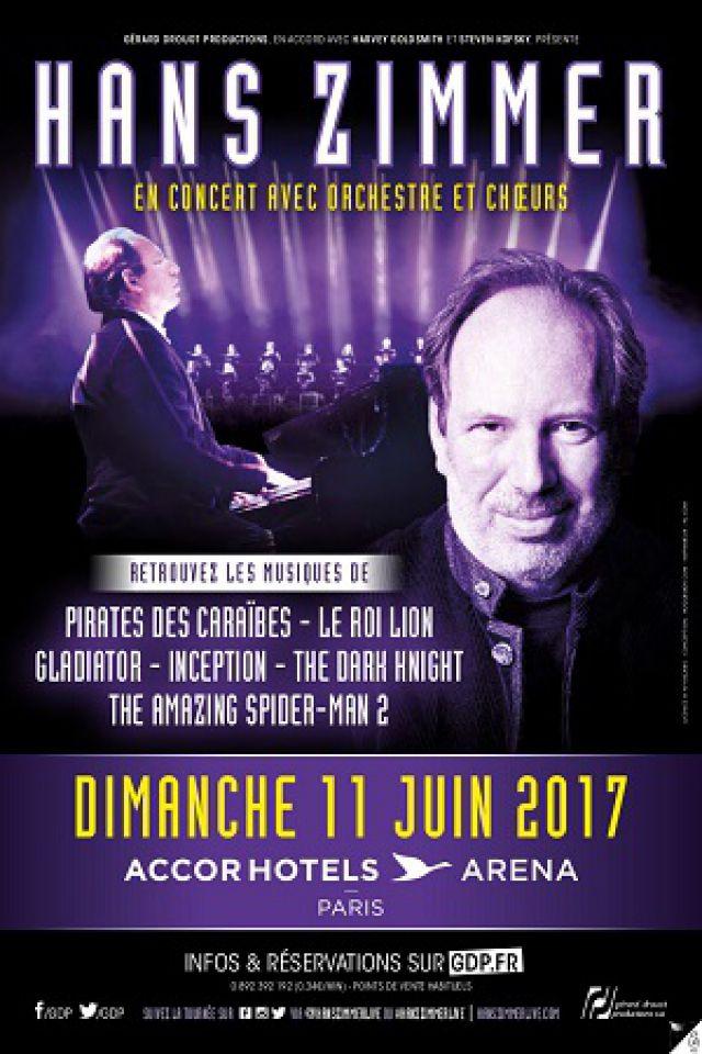 HANS ZIMMER @ ACCORHOTELS ARENA - PARIS 12