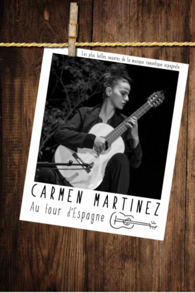 CARMEN MARTINEZ - AU TOUR D'ESPAGNE @ Théâtre le Colbert  - TOULON