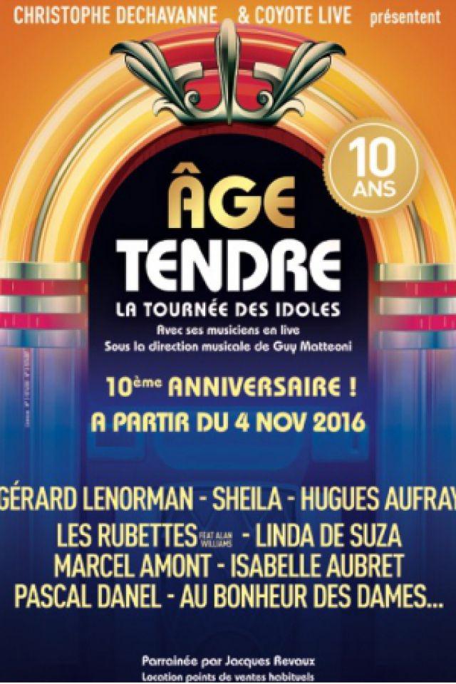 """AGE TENDRE """"NOUVELLE TOURNEE 2016"""" @ ARENA LOIRE - TRÉLAZÉ"""