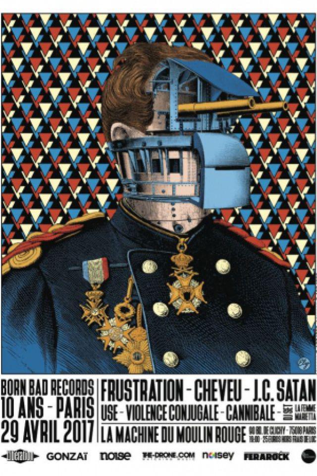 10 Ans Born Bad Records : Born Bad Still Rock @ La Machine du Moulin Rouge - Paris