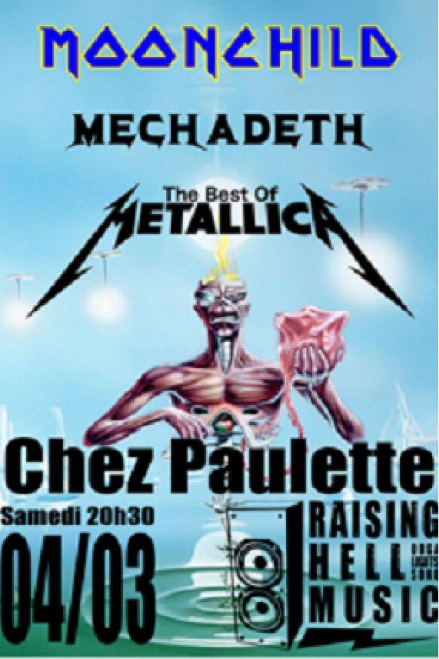 Soirée Tribute Iron Maiden Metallica Megadeth @ Chez Paulette - Pagney derrière Barine
