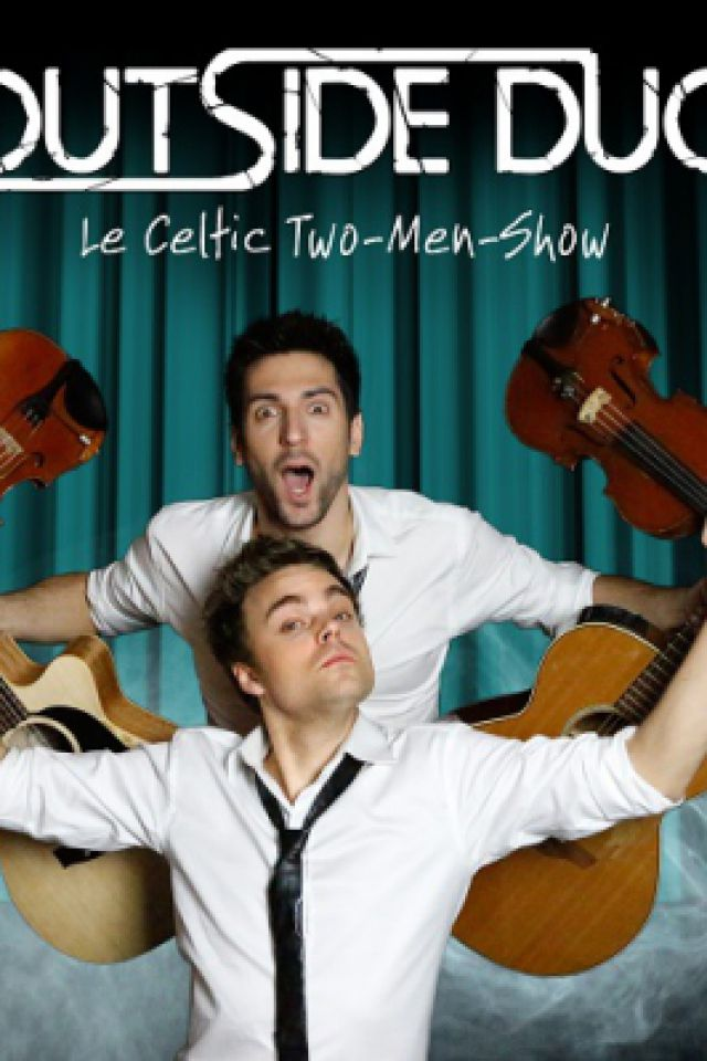 OUTSIDE DUO - Celtic Two Men Show @ LE PAN PIPER - PARIS