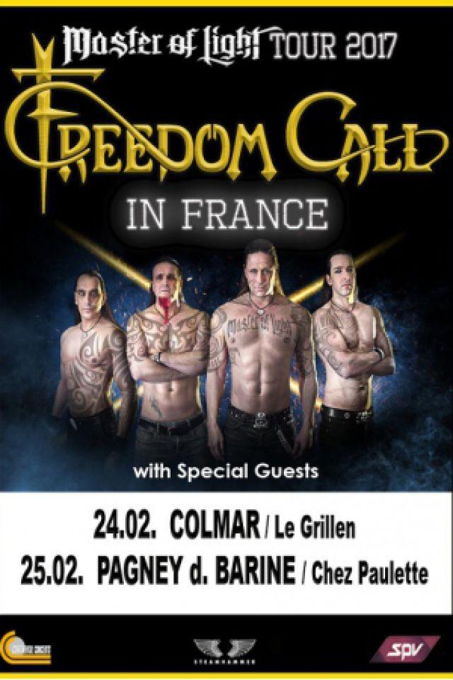 FREEDOM CALL @ Le GRILLEN - COLMAR