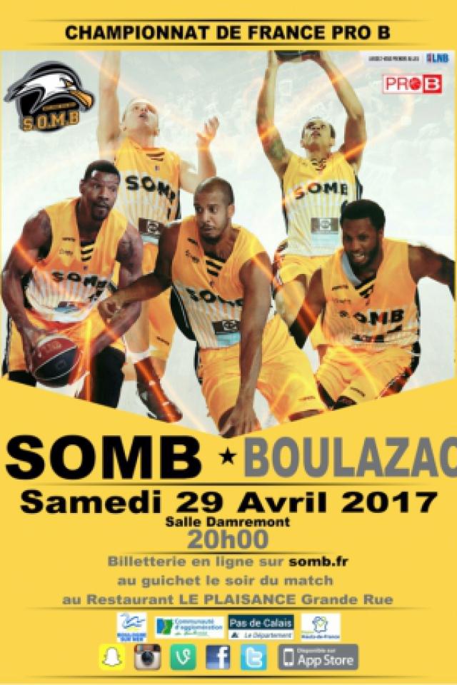 SOMB-BOULAZAC PRO B @ Salle Damrémont - BOULOGNE SUR MER