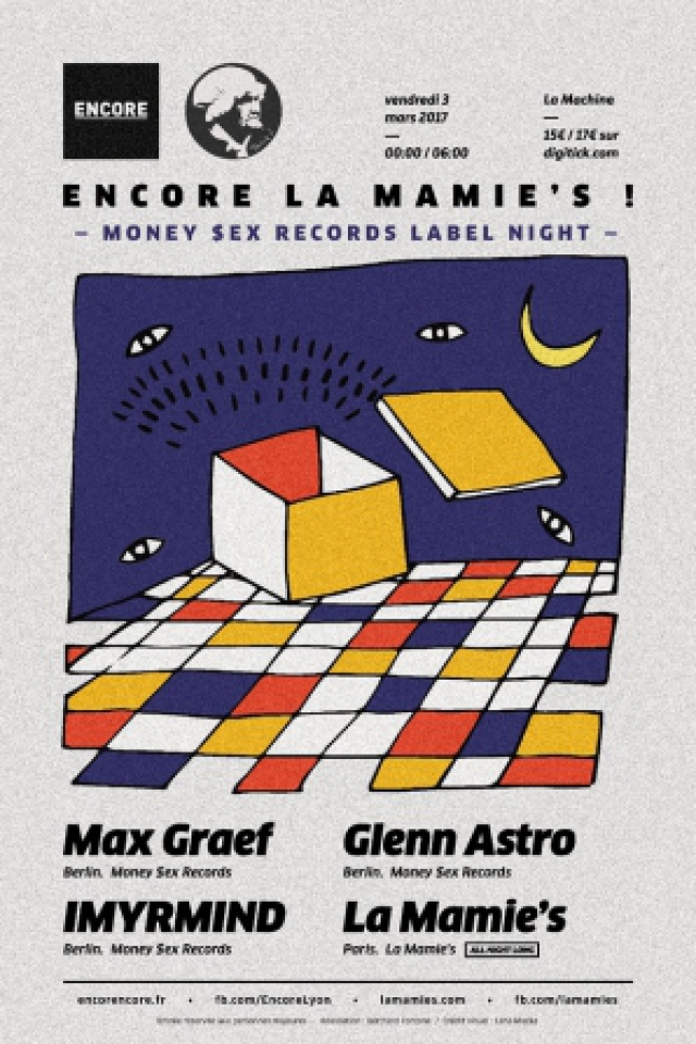 Encore La Mamie's! pres. Max Graef b2b Glenn Astro b2b IMYRMIND @ La Machine du Moulin Rouge - Paris