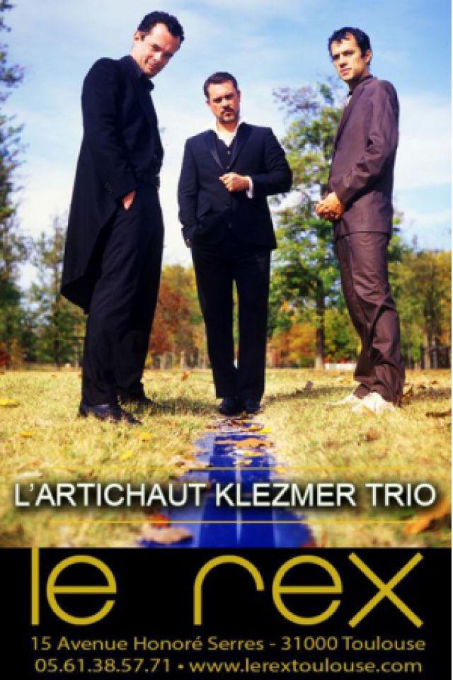 L'ARTICHAUT KLEZMER TRIO @ Le Rex - TOULOUSE