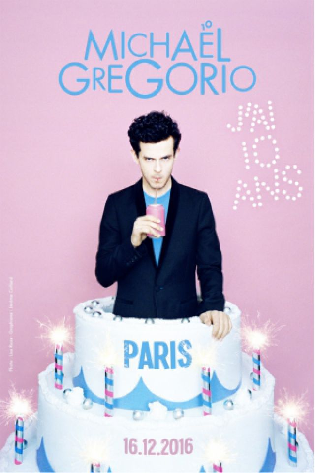 Michaël Gregorio - J'AI 10 ANS !  @ ACCORHOTELS ARENA - PARIS 12